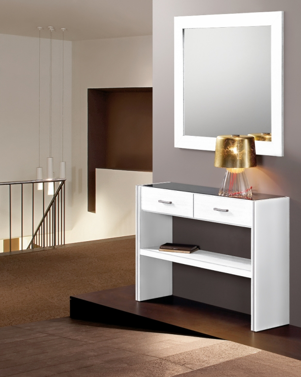 Muebles de recibidores muebles para poner orden en el - Recibidores a medida ...